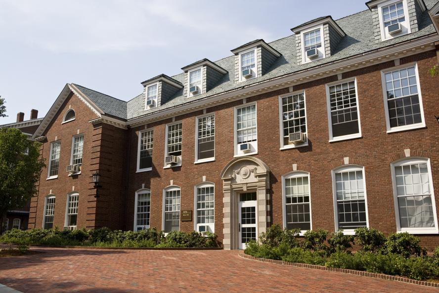 Braker Hall on the Medford Campus of Tufts University