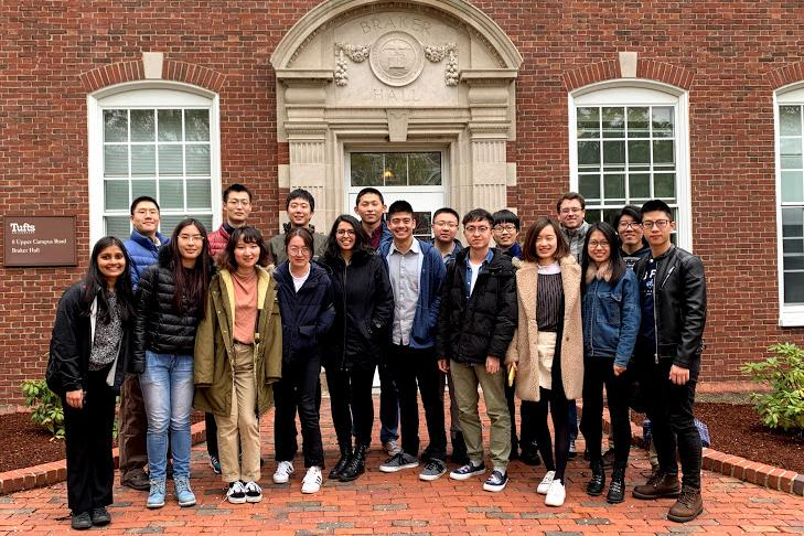 Students from Tufts University's Department of Economics