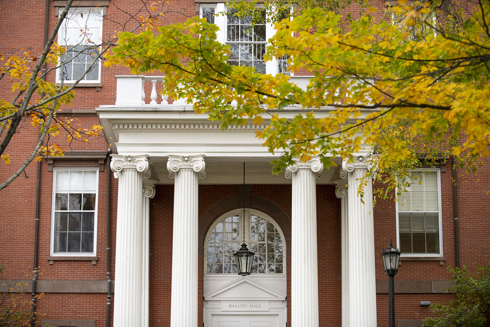Ballou Hall on Tufts University's Medford campus