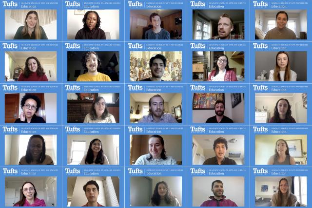 Collage of student videos