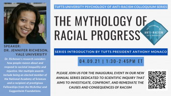 The Mythology of Racial Progress flyer