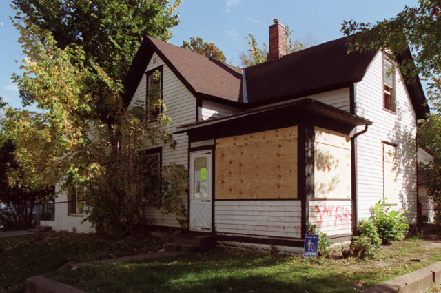 A house in Minneapolis' Hawthorne neighborhood.