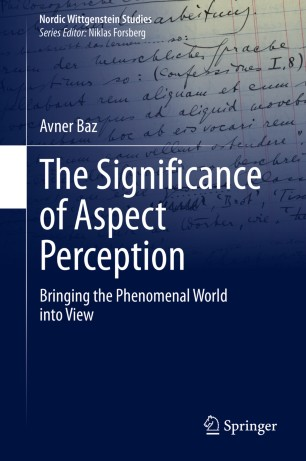 Cover of The Significance of Aspect Perception