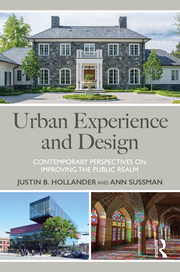 Cover of Urban Experience and Design
